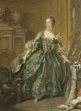 Sketch for a Portrait of Madame de Pompadour, Francois Boucher © Waddesdon Image Library