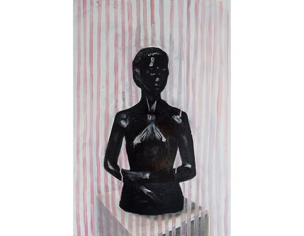 Cathy Lomax, Black Venus. Oil on canvas, 60 x 40 cm, 2014-15.