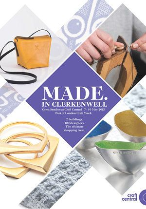 Made in Clerkenwell - Open Studios Summer 2015