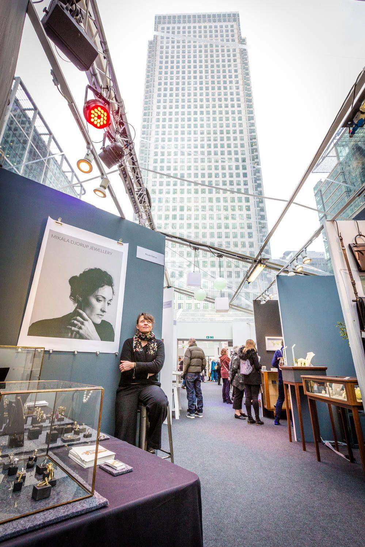 Art Events Calendar London : Made london canary wharf art fair at east wintergarden