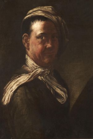 Image: John Collier (Tim Bobbin), Portrait of Tim Bobbin. Photo: Rochdale Arts & Heritage Service