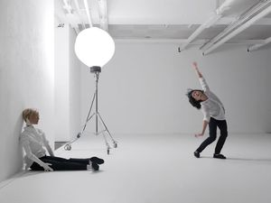 Mai-Thu Perret Figures (2014) Performance at the Biennale of Moving Images, Centre d'Art Contemporain, Geneva, Switzerland. Photograph courtesy Annik Wetter