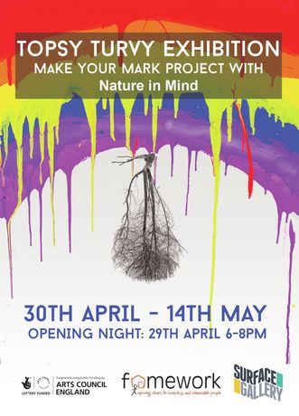 Make Your Mark: Topsy Turvy Exhibition: Image 0