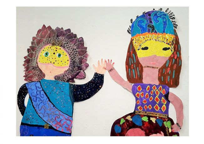 Carnival Dancers by MakeArt and Move students (aged 5 -14) July 2018