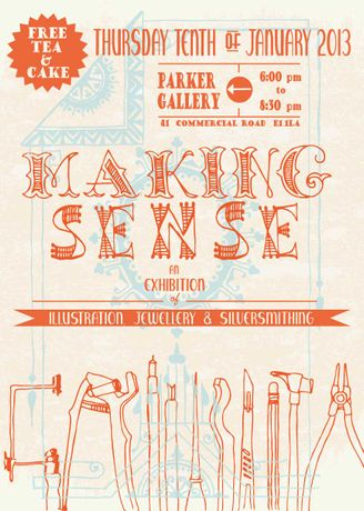 Making Sense an Exhibition of Illustration, Jewellery and Silversmithing: Image 0