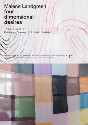 Malene Landgreen. Four Dimensional Desires
