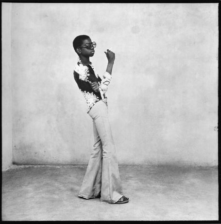 A Ye-ye posing, 1963 | © Malick Sidibé / Courtesy HackelBury Fine Art, London