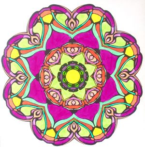 Mandala-Making with the artist