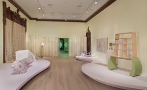 Installation view of Marc Camille Chaimowicz: Your Place or Mine… The Jewish Museum, New York. Photo by: Jason Mandella