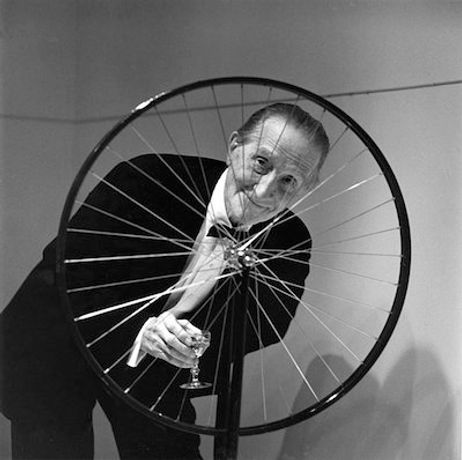Marcel Duchamp at The Artist Dining Room: Image 0