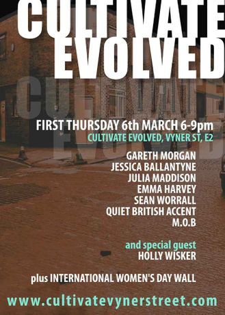 MARCH FIRST THURSDAY at CULTIVATE EVOLVED, VYNER STREET: Image 0