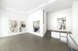Marco Reichert, IN COMPARISON, 2017, installation view at RIBOT gallery