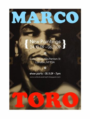 Marco Toro - New Paintings: Image 0
