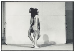 Marina Abramović/Ulay, Ulay/ Marina Abramović, Relation in space, 1976 © the artist