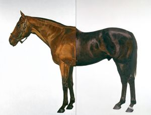 Mark Wallinger Half-Brother (Exit to Nowhere - Machiavellian) 1994-5