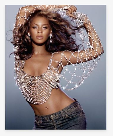 Beyonce Dangerously in Love Album Cover (2003) by Markus Klinko