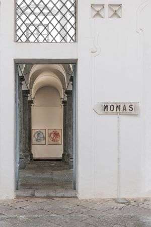 Martin Kippenberger. The Musuem of Modern Art Syros installation view at Fondazione Sant'Elia, Palermo. Photo: OKNO studio