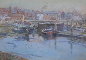 Looking towards Harbour Row, Gosport, Hampshire, c1900, Martin Snape