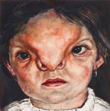 Human #14, from Human series (2000), Oil on panel