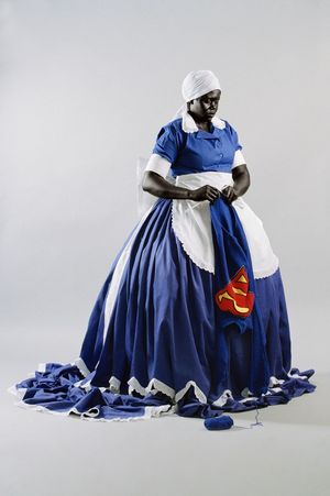 Mary Sibande, They Don't Make Them Like They Used To, 2008, courtesy of SMAC Gallery, copyright Mary Sibande