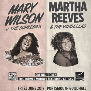 Mary Wilson of the Supremes and Martha Reeves & the Vandellas