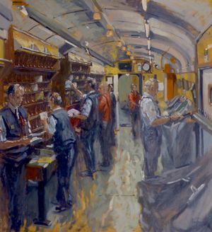 Royal Mail Commissioned Oil Painting