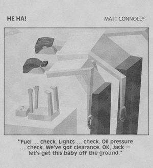 Matt Connolly. He Ha!