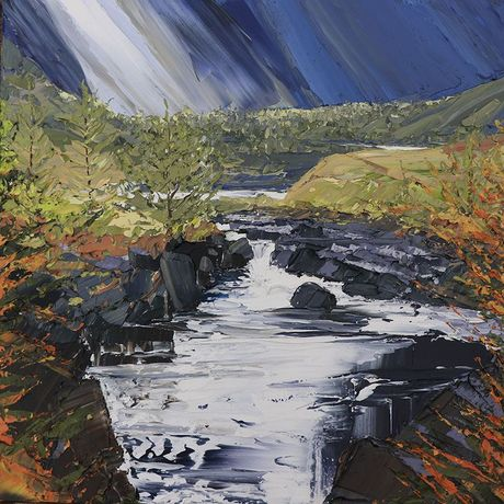 Snowden, Autumn turn, Glen Coe River