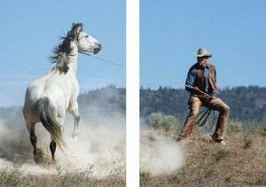 M+B Photo Presents Norm Clasen: Titled (Cowboy)