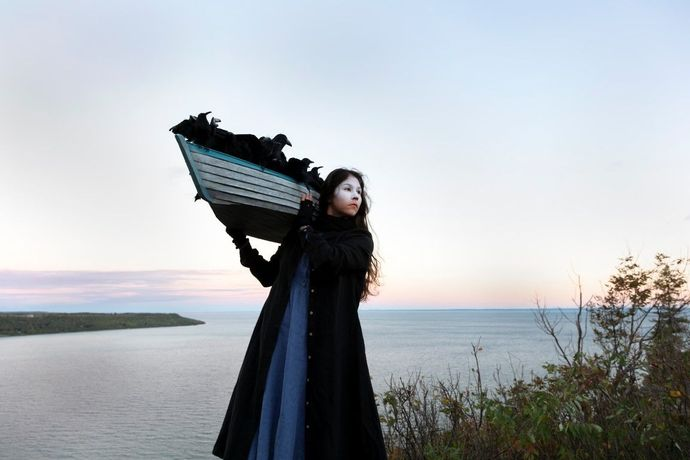 Meryl McMaster On the Edge of this Immensity (2019) Giclée Print. Courtesy the artist