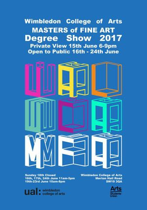 MFA Fine Art Degree Show