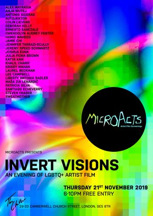 MicroActs presents Invert Visions • An Evening of LGBTQ+ Artist Film