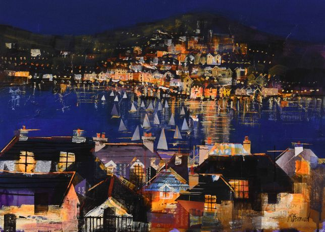 Dartmouth and Kingswear At Night
