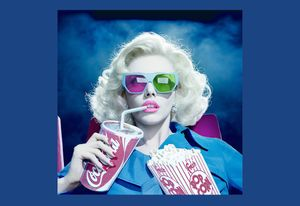 Miles Aldridge's Carousel: Lithograph and Screenprints, Drawings and Photograph
