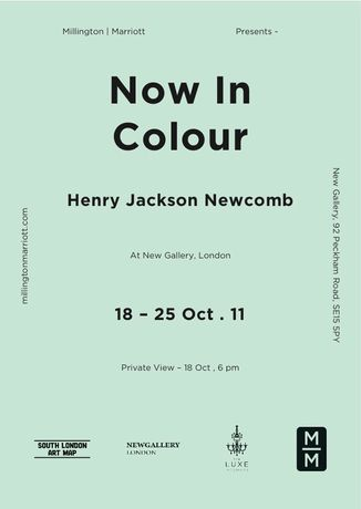 Millington | Marriott present Now In Colour - Henry Jackson Newcomb: Image 0