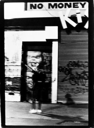 No Money (from the Invisible Man series), Harlem, NY, ca. 1991 Vintage gelatin silver print, printed ca. 2000 24 x 20 in