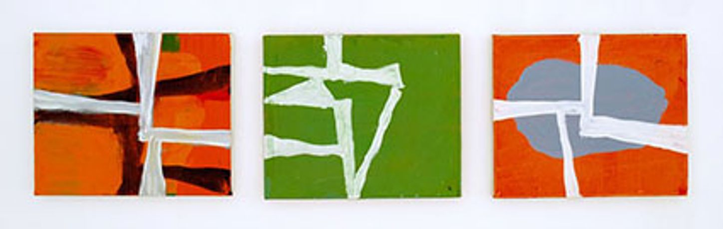 Mini — Meta: abstract painting from 14 British artists: Image 0