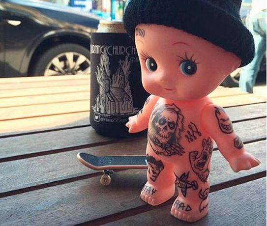 Kewpie by Alex Edwards