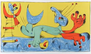 Miró: Original Lithographs and Etchings