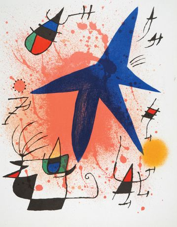 Miró: Original Lithographs and Etchings: Image 1