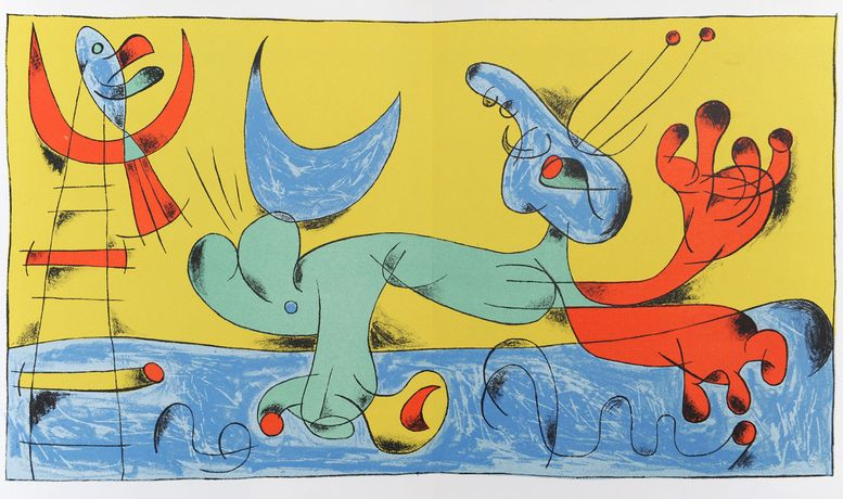 Miró: Original Lithographs and Etchings: Image 0