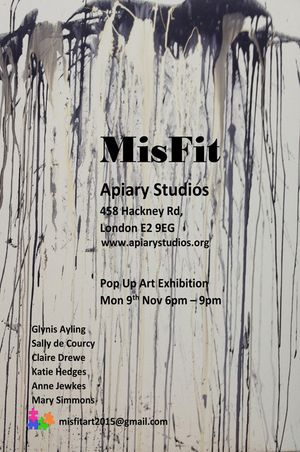 Misfit Pop Up Contemporary Art Exhibition