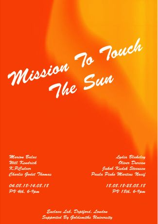 Mission to Touch the Sun poster
