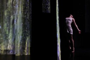 Mixology: Liz Gerring Dance Installation with Michael Schumacher / Leila Bordreuil / Ursula Scherrer