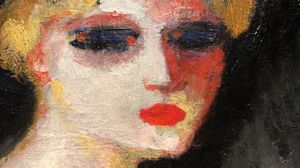 Kees VAN DONGEN, Tête de femme (detail), c. 1906, Oil on canvas, 41 x 33 cm. Image courtesy of Olivier Malingue Ltd.