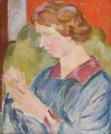 Portrait of Faith Henderson (by Vanessa Bell)