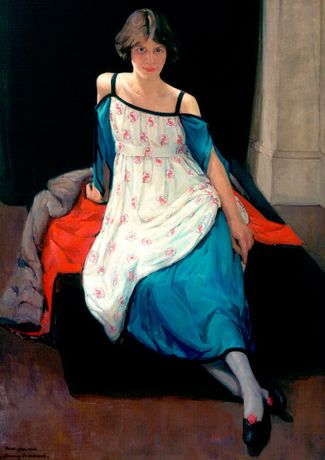 Image: Dorothy Johnstone, Anne Finlay, 1920, Aberdeen Art Gallery & Museums Collections © Courtesy of Dr DA Sutherland and Lady JE Sutherland