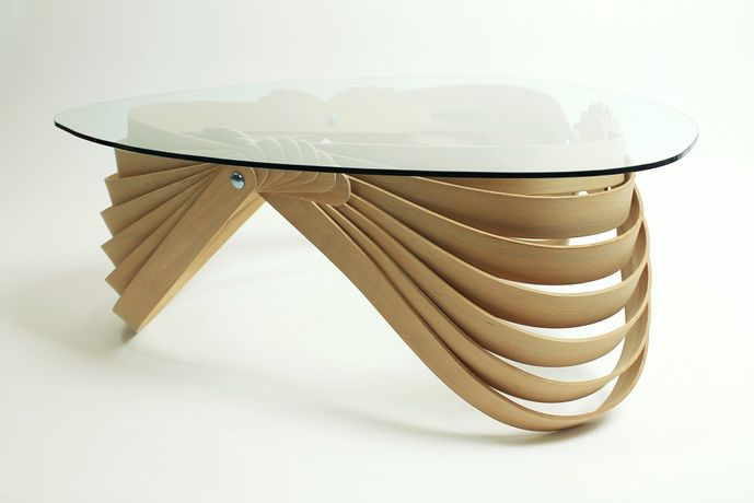 Modern Twist: Steam bent furniture by Joshua Till: Image 2