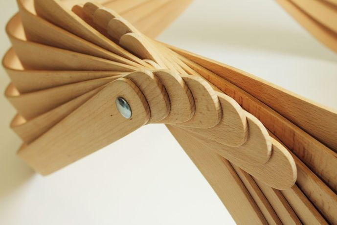Modern Twist: Steam bent furniture by Joshua Till: Image 1