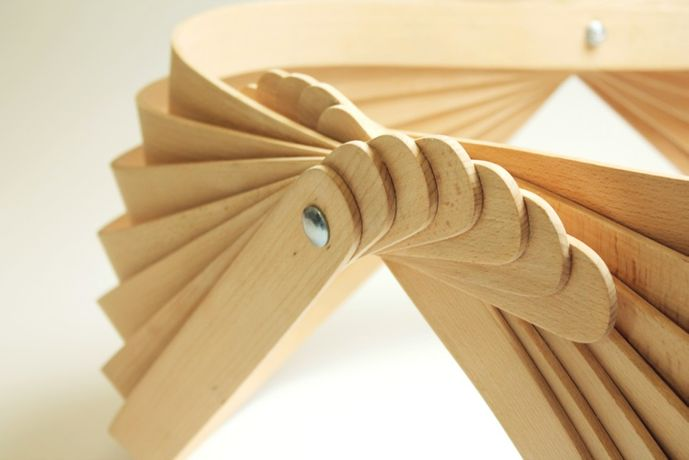 Modern Twist: Steam bent furniture by Joshua Till: Image 3